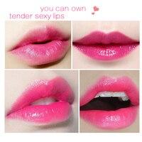 99% ALOE VERA Jelly Lipstick Temperature Change Color Moisturizing Lip Stick Pink Tint Makeup Batom 6