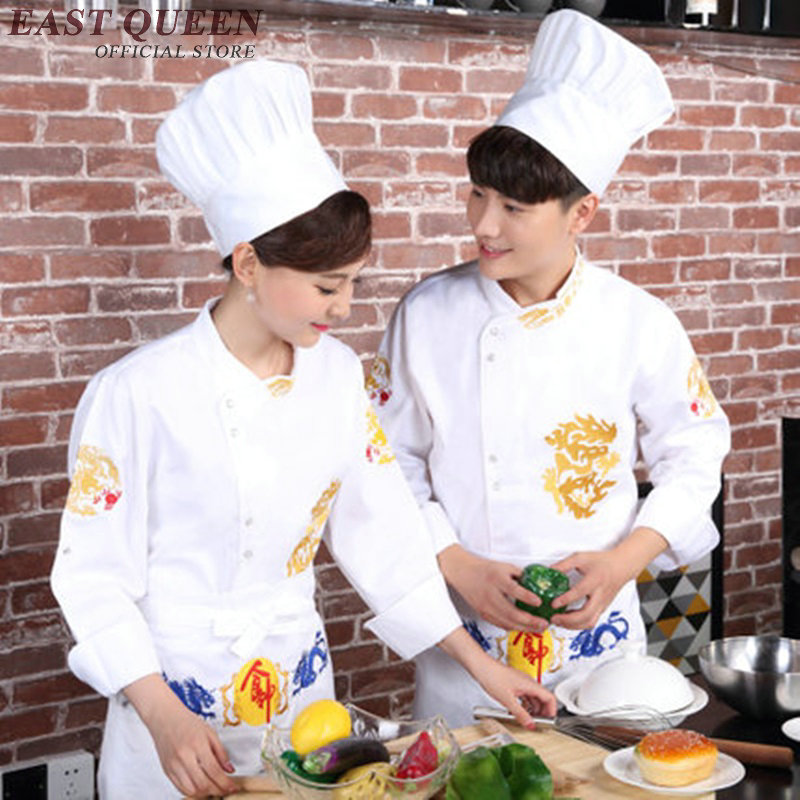 Chef uniform cook clothes waiter uniform chef costume cooks clothing restaurant uniform KK1746 H