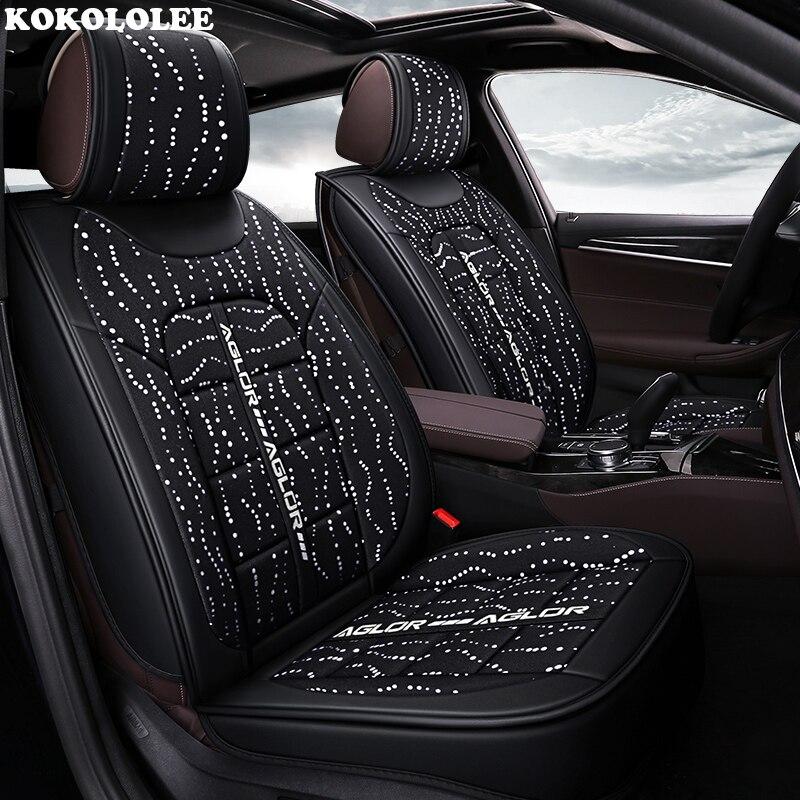 KOKOLOLEE housse de siège de voiture pour mercedes w203 w124 w202 mercedes w211w212 w245 cla gla s600 Automobiles housses de siège de voiture- style