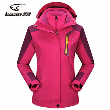 LXIAO Winter Hiking Jacket Water Resistant Waterproof Breathable Ployester Jacket Windbreaker Outdoor Sport For Camping Clothing