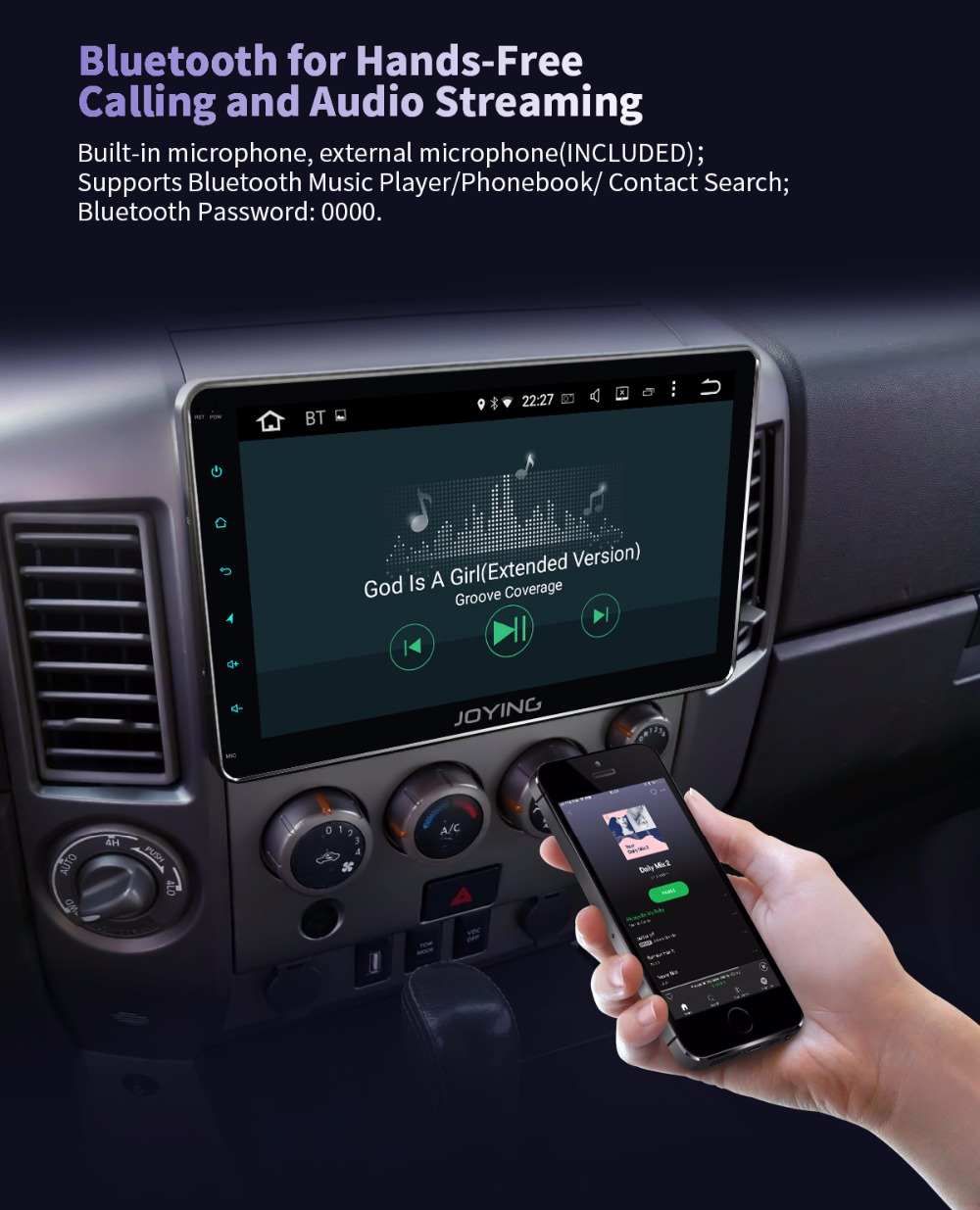 JOYING 10 1'' 4GB+64GB Octa 8 Core Android 8 1 head unit 2 din car radio  stereo multimedia player Android auto support Carpaly