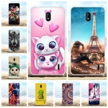 For Nokia 1 Plus Cover Ultra Slim Soft TPU Silicone Case Paris Tower Patterned Bumper Coque