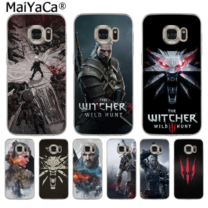 Us 112 49 Offmaiyaca The Witcher Wild Hunt Fashion Fun Dynamic Phone Case For Samsung S3 S4 S5 S6 S6edge S6plus S7 S7edge S8 S8plus In