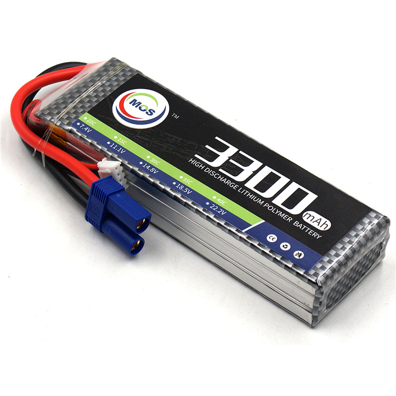 MOS 3S lipo battery 11.1v 3300mAh 25C 3S Batteries For RC helicopter rc car rc boat quadcopter Li-Polymer batteria mos 5s rc lipo battery 18 5v 25c 16000mah for rc aircraft car drones boat helicopter quadcopter airplane 5s li polymer batteria