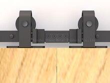 Dimon カスタマイズスライディングドアハードウェア木製納屋のドアハードウェアホイールアメリカスタイルスライディングドアハードウェア DM-SDU 7208