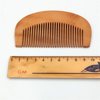 Small Health Care Peach Comb Hair Comb Anti Static And Portable Makeup Small Comb