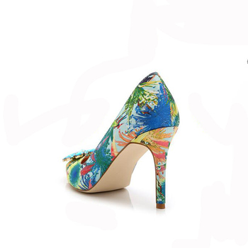 2019 Brand Women Pumps Fashion Rhinestone Pointed Thin High-heeled Women Shoes Plus Size High Heels Single Wedding Shoes XP30 10