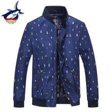 Новый 2018 повседневное осень для мужчин куртка бренд Tace & Shark пальто для будущих мам ветровка бизнес chaquetas hombre бомбер casacos masculino