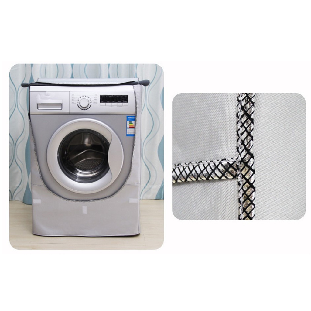 Gold Plated Coated Top Cover Washer Washing Machine Portective Washer Dryer Protector Cover - Top Load Front image