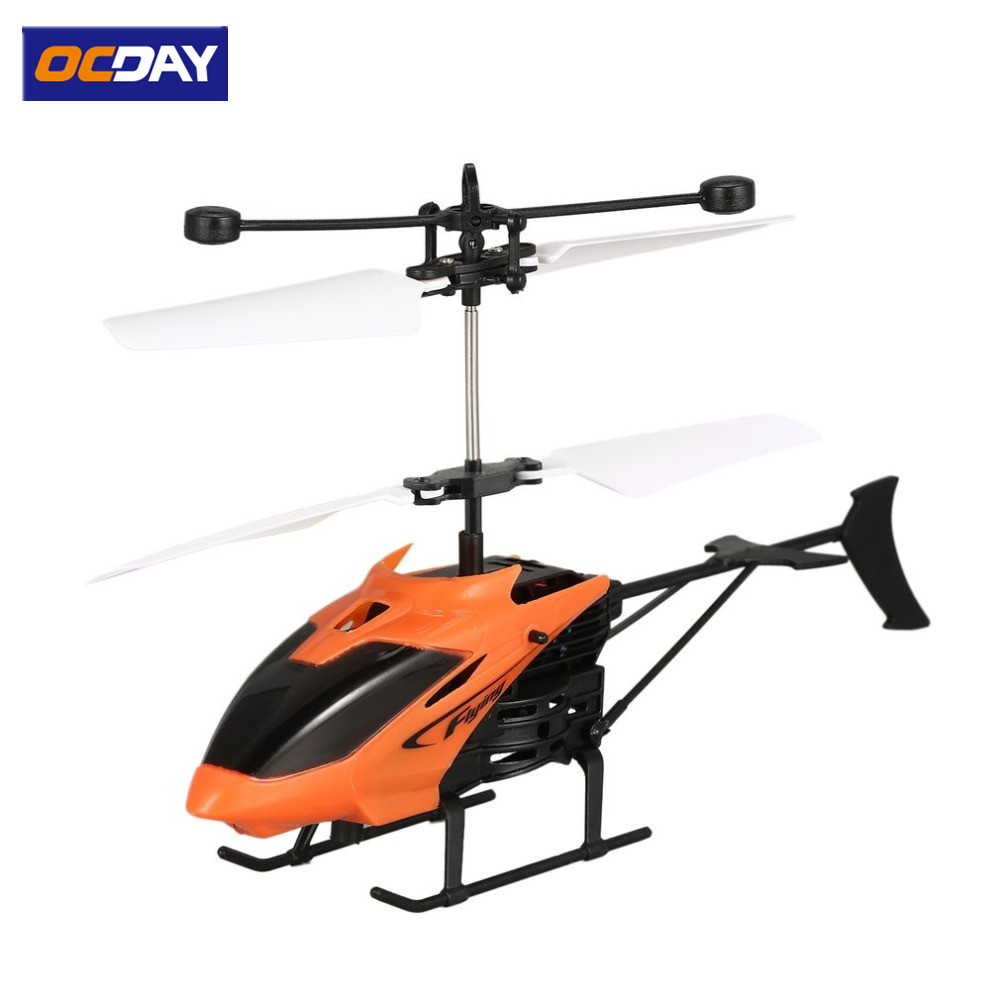 D715 Flying Mini Infrared Induction RC Helicopter Drone Remote Control Aircraft with LED Flashing light for Kids Toys Gift hand induced hovering floating flight novelty infrared sensor flying saucer ufo hand movements kids toys mini drone led flash