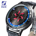Six flower brave watch LED Waterproof Wrist Watch Men Digital Wristwatches Solid Relogio Masculino Clock Male Watch relojes