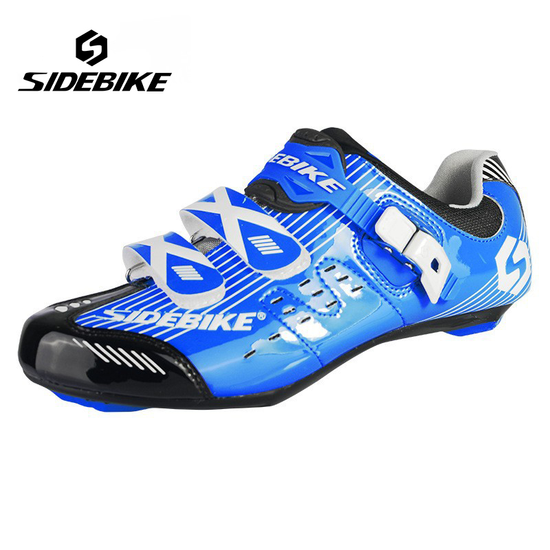 Sidebike Ultralight Road Bike Shoes Non-Slip TPU Soles Bicycle Shoes Cycling Self-Locking Shoes zapatillas ciclismo bicicleta aimo m320 pocket meter auto range handheld digital multimeter