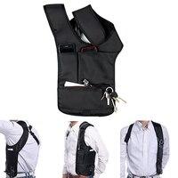 Travel Safe Anti Theft Hidden Underarm Shoulder Bag Double Bag Design Pouch
