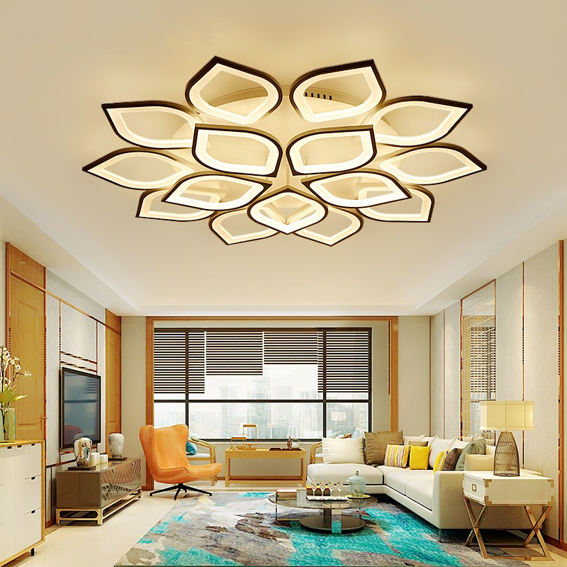Modern LED living room ceiling lamps Novelty Acrylic ceiling lights creative bedroom Fixtures dining room ceiling lighting modern led living room ceiling lamp acrylic ceiling lights creative bedroom dining room home lighting fixtures plafondlamp lumin