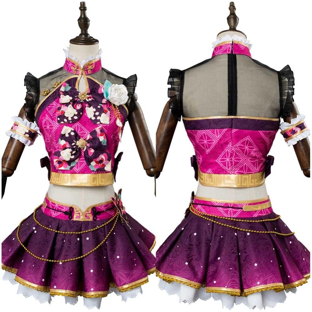 Lovelive Cosplay Sakurauchi Riko Cosplay Costume Mermaid Awaken Adult Women Dress Outfit Halloween Costume