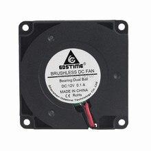 1 шт. Gdstime части 3d принтера 4010 Бесщеточный вентилятор охлаждения турбо 12 В 40 мм 40x40x10 мм 2Pin