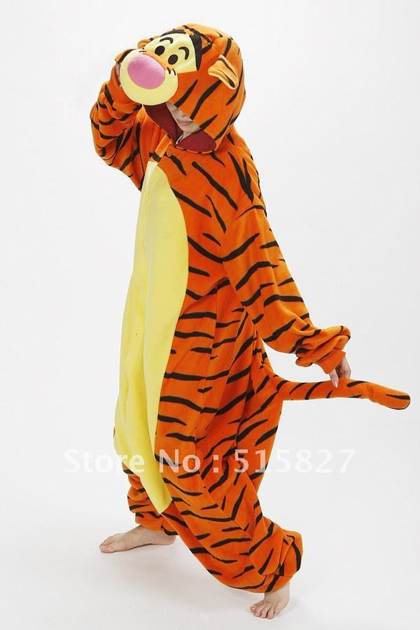 55ce5d913195 Detail Feedback Questions about New Children Adult Fleece Lovely Tiger  Pyjamas Pajamas Sleepsuit sleepwear Onesie on Aliexpress.com