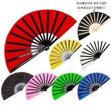 Высокое качество кунг-фу вентилятор Волшебные трюки Волшебная Опора бамбуковый вентилятор волшебные игрушки, семь цветов на выбор