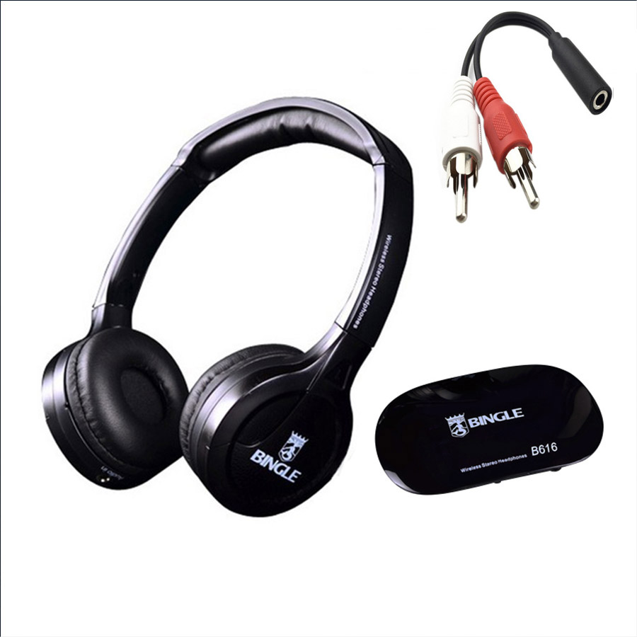 2019 Best Original Bingle B616 Multifunction Stereo With Microphone FM Radio For MP3 PC Audio Headset Wireless Headphones For TV