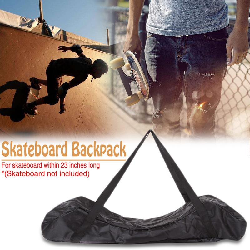 Skateboard Bag Street Board Banana Plate Backpack Plastic Fish Skateboard Four-wheel Skateboard Board Backpack Accessories
