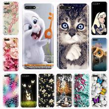 Phone Case For Huawei Y5 Y6 Y7 Prime 2017 2018 Y9 2019 Soft TPU Fashion Back Cover For Huawei Y3 Y5 Y6 II Y7 Pro Case Silicone все цены