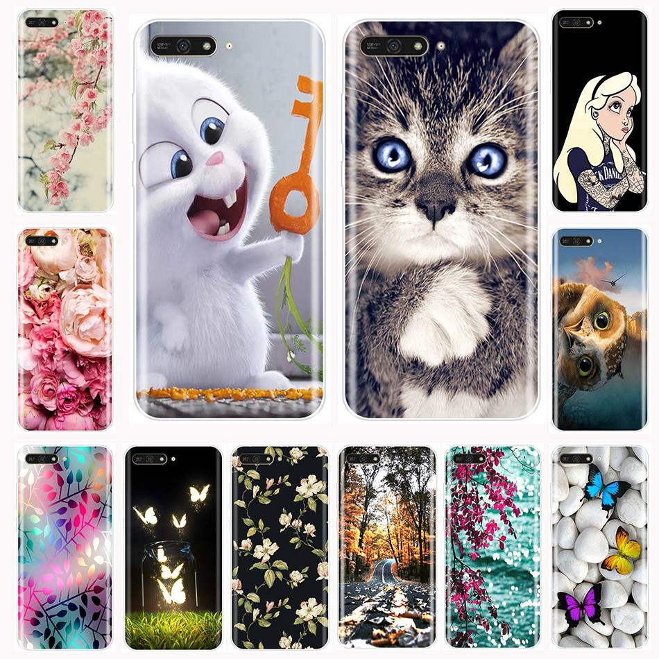 Phone <font><b>Case</b></font> <font><b>For</b></font> <font><b>Huawei</b></font> Y5 <font><b>Y6</b></font> Y7 <font><b>Prime</b></font> 2017 <font><b>2018</b></font> Y9 2019 Soft TPU Fashion Back <font><b>Cover</b></font> <font><b>For</b></font> <font><b>Huawei</b></font> Y3 Y5 <font><b>Y6</b></font> II Y7 Pro <font><b>Case</b></font> Silicone image