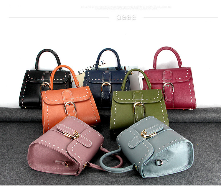 Designer Inspired Handbag Top Quality Genuine Leather Luxury Brand Women Classic Tote Bag 247 classic leather