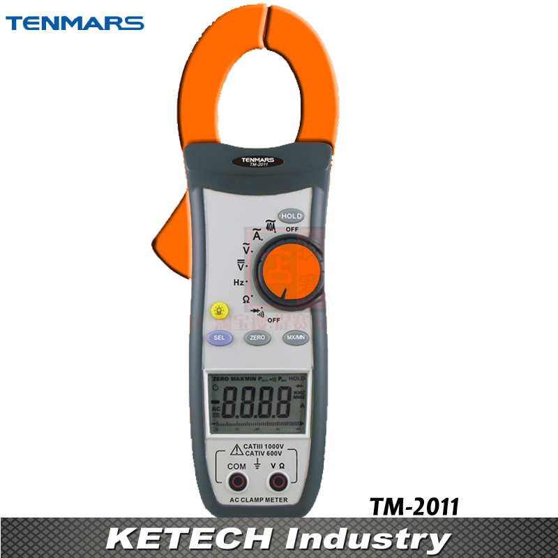 Handeld Clamp Meter TM-2011AC Digital Clip-on Table Tester цена
