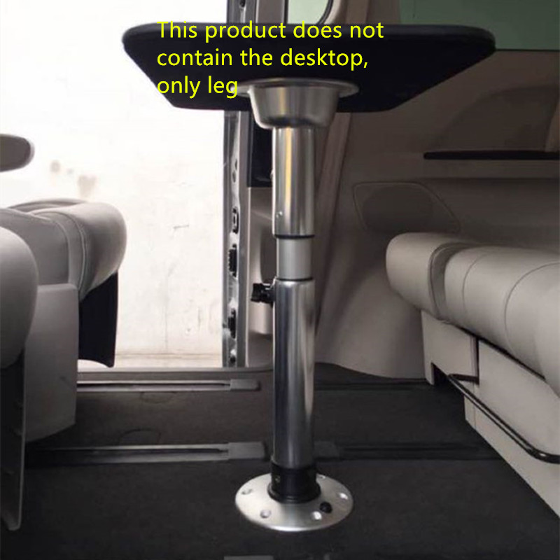 US $69 0 |metal caravan telescopic table leg MPV removable table mounts  with height adjustable parts  RV table leg can Up and down-in RV Parts &