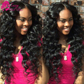 Malaysian Deep Curly Virgin Hair With Closure Hair Bundle With Lace Closure Deep Wave Wet And Wavy Human Hair Weave With Closure