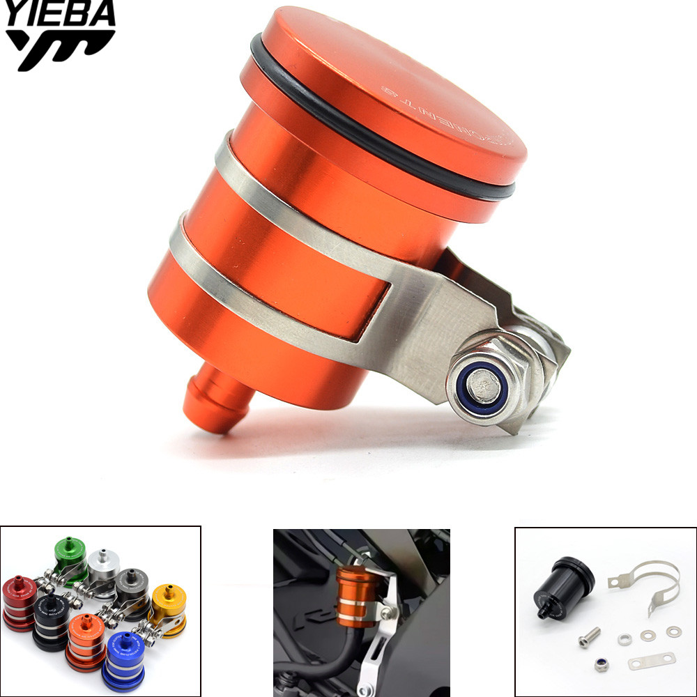 Brake Fluid Reservoir Clutch Tank Oil Fluid Cup Universal Motorcycle FOR KTM AJP PR4 AJP PR5 AJP MX suzuki AN250 AN400 AN650 universal motorcycle brake fluid reservoir clutch tank oil fluid cup for mt 09 grips yamaha fz1 kawasaki z1000 honda steed bone