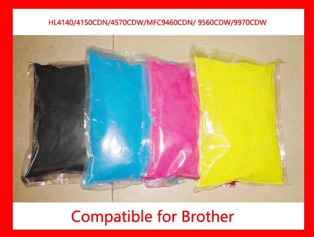 все цены на High quality compatible brother HL4140/4150CDN/4570CDW/MFC9460CDN/9560CDW/9970CDW color toner powder printer toner free shipping онлайн