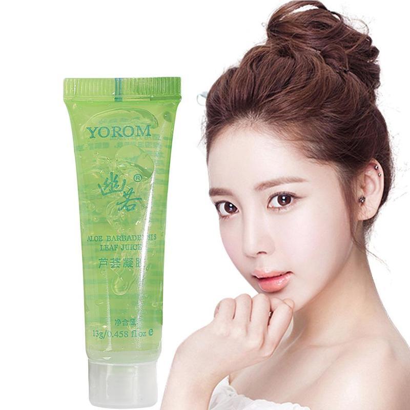 1Pcs Beauty Aloe Vera Gel After Sun Repair Cream Moisturizing Whitening Anti Winkles Aging Cream Sunscreen Face Care Freeshiping