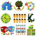 Учебное руководство для детского сада Diy тканевая ткань для раннего обучения Детские игрушки Монтессори Обучающие игрушки Математические ...