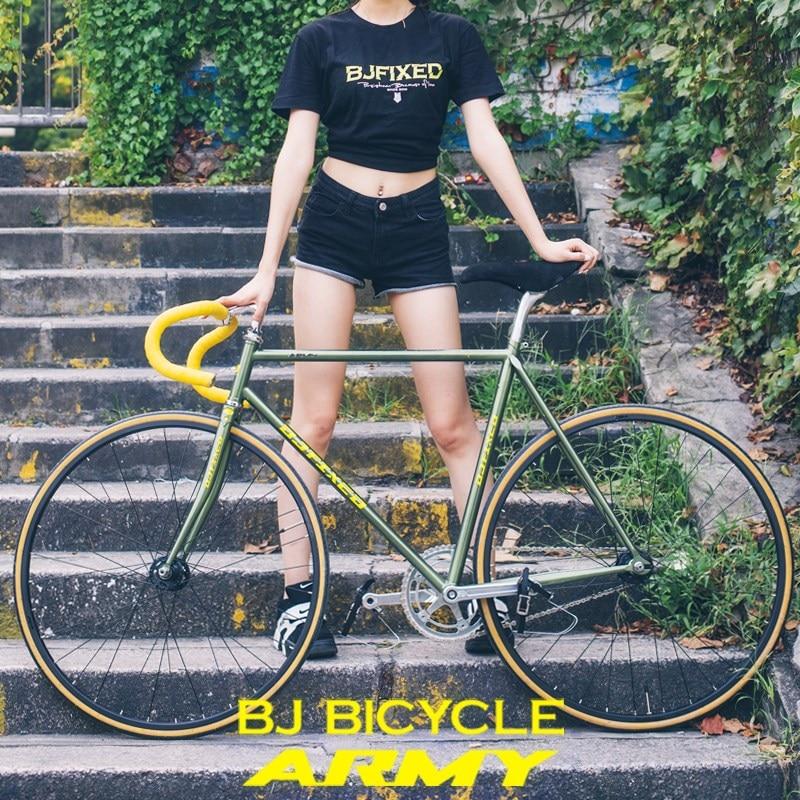 4130 Chrome-molybdenum Steel Vintage Bike Frame Fixie Bike Track Single Speed Bike 48cm 52cm 54cm 56cm 58 Cm Fixed Gear Bike