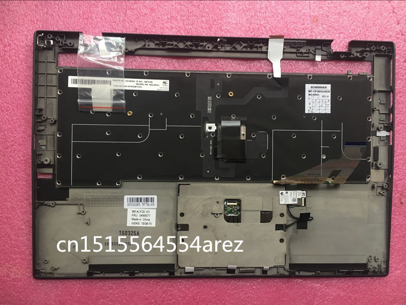 New laptop Lenovo ThinkPad X1 CARBON TYPE 20A7 20A8 Bezel Palmrest cover Hungarian German KeyBoard 04X6577 04X6574