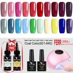 Venalisa gel polish vernish color gel polish for nail art design whole set nail gel learner different pcs kit