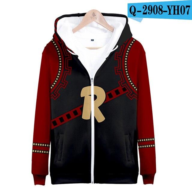 My hero academia hoodies izuku midoriya shouto todoroki boku no hero academia Cosplay Costume Sweatshirt boys girl Zipper Jacket 13