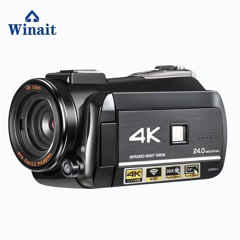 Caméra/caméscope vidéo numérique Winait Vision nocturne UHD 4k