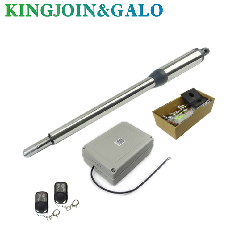 Single piece automatic swing gate opener motors for 300kg gate 2 remote controls