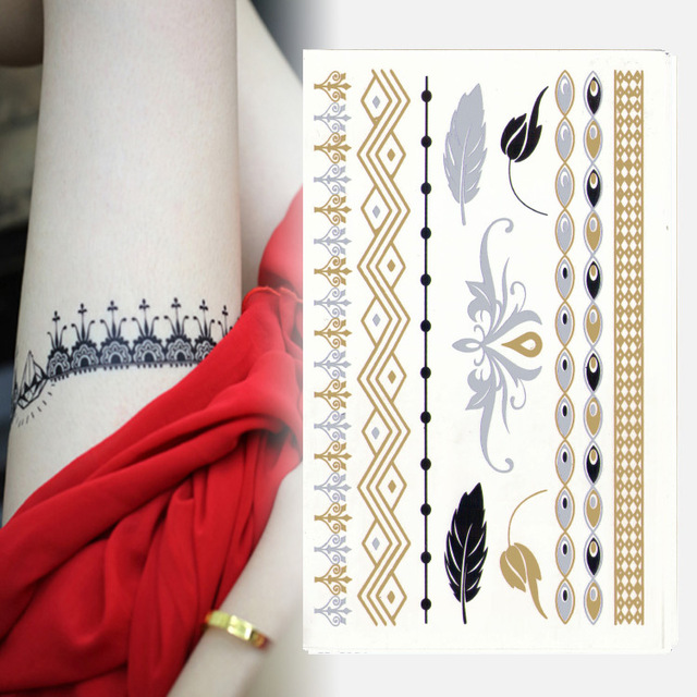 Fashion 2015 New Design Golden Horse Eye Simple Bracelet Tattoo