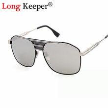 Long keeper marca homens mulheres óculos de sol do punk do vapor de metal  quadrado retro vintage gradiente óculos de sol dos hom. 8456252a8b