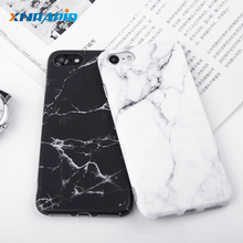 цена на Imd Marble Stone Gel Case for Apple iPhone 7 6s 6 8 Plus 5 5s SE X 10 XR XS Max Cases Black White Soft Squishy phone Case