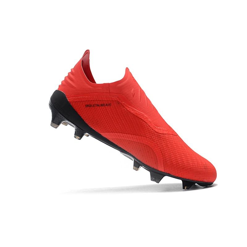 Sufei Nouveau 2018 X Football Chaussures Hommes FG Football Bottes Pas Cher D'origine Non-slip En Plein Air Longues Pointes Crampons En Gros