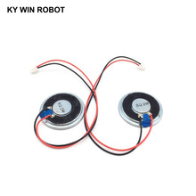 2pcs/lot New Ultra-thin speaker 8 ohms 2 watt 2W 8R Diameter 40MM 4CM thickness 5MM with PH2.54 terminal wire length 20C