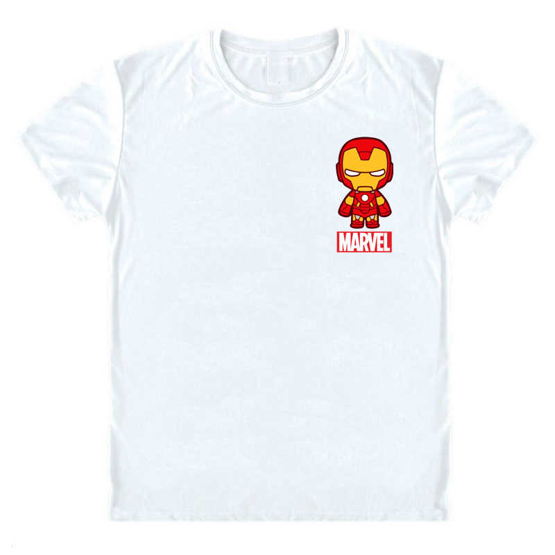86cd05cf3 ... Marvel T Shirt Avengers Super Hero Shirt Captain Marvel Legends  Spiderman Iron Man Comics Tee Fashion ...