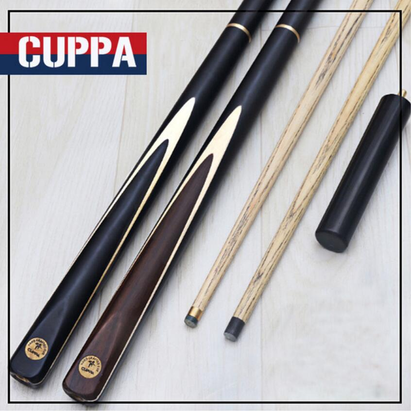 Cuppa 3/4 Snooker Cues Case Set 9.8mm/11.5mm Tips Black Brown Handle Professional Handmade Durable Billiard Kit Stick China 2019Cuppa 3/4 Snooker Cues Case Set 9.8mm/11.5mm Tips Black Brown Handle Professional Handmade Durable Billiard Kit Stick China 2019