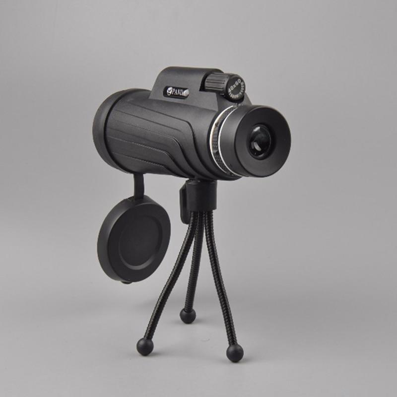 40x60 monocular com telescópios tripé profissional militar