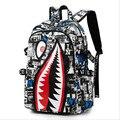 yesetn bag 101916 mens oxford shark backpack school bag