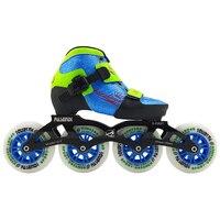 2019 nuevas botas de patinaje de velocidad para niños 4x90 or 4x100 montura ajustable patines para hombres y mujeres patine prof